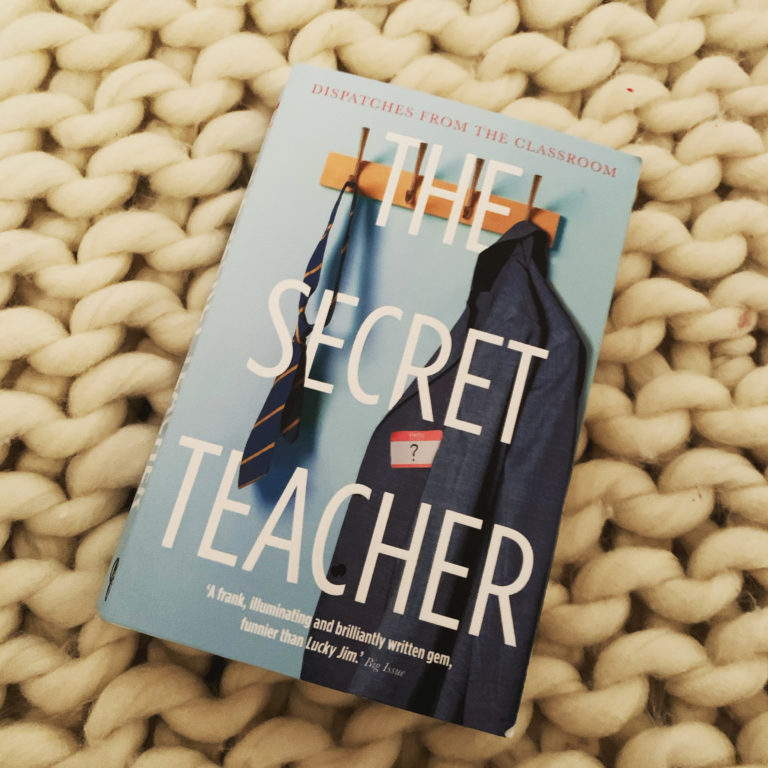 So I just read The Secret Teacher: Dispatches from the Classroom and…