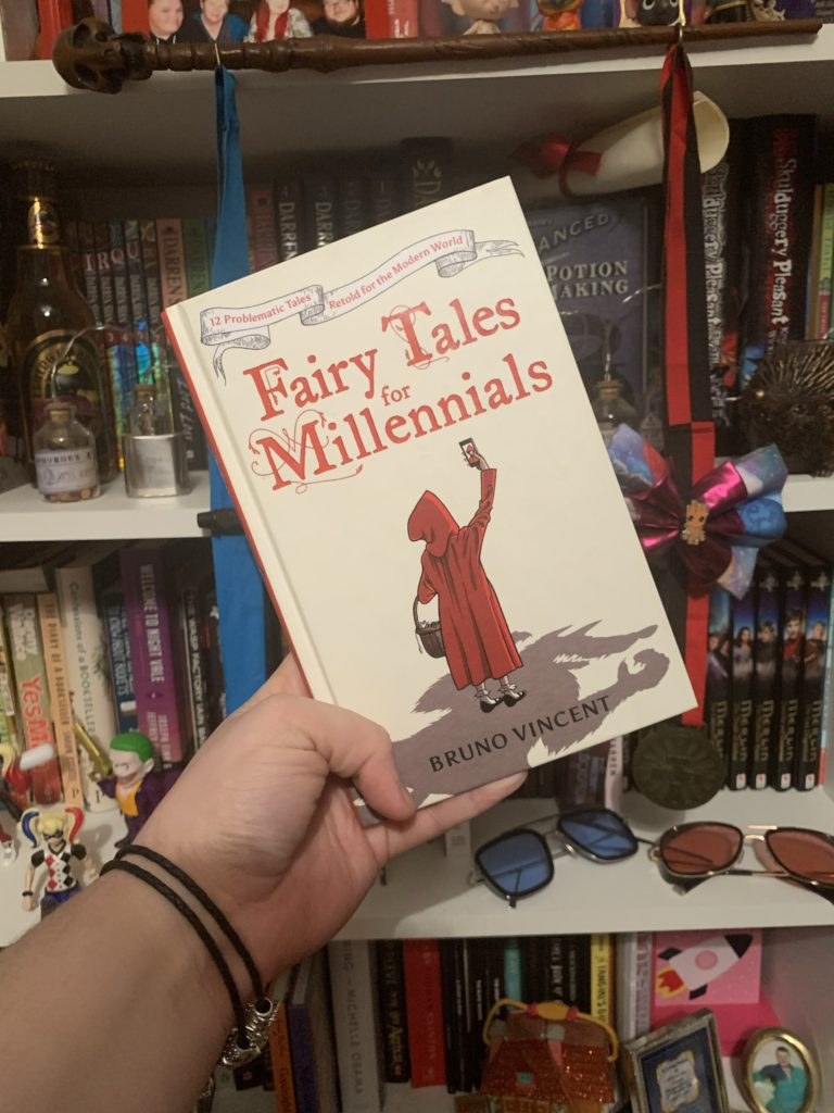 So I just read Fairy Tales for Millennials by Bruno Vincent and…