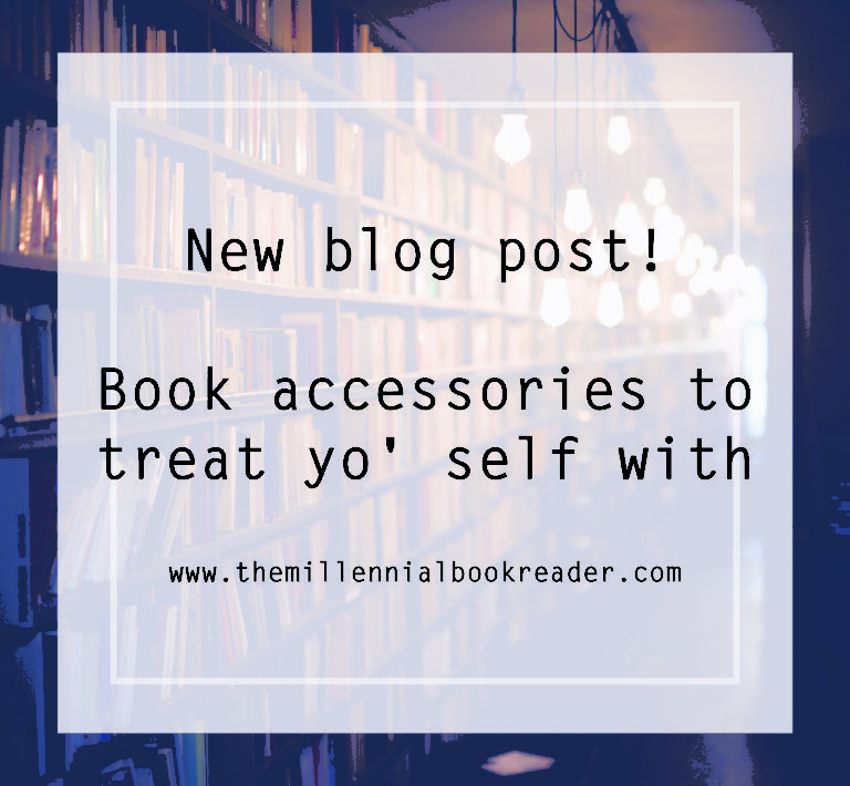Book accessories to treat yo' self with.