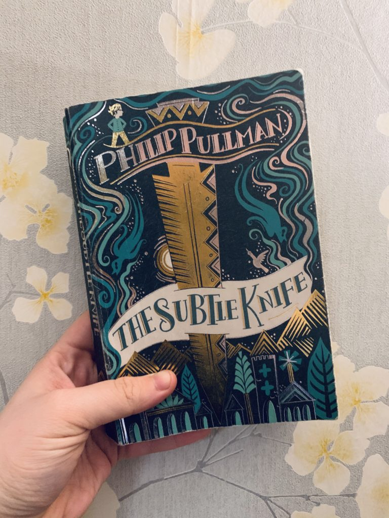 So I just read the Subtle Knife by Philip Pullman and…