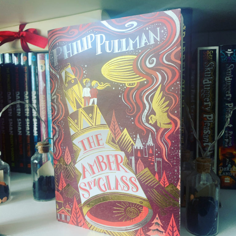 So I just read The Amber Spyglass by Phillip Pullman and…