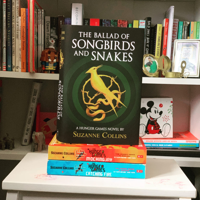 So I just The Ballad of Songbirds and Snakes by Suzanne Collins and…